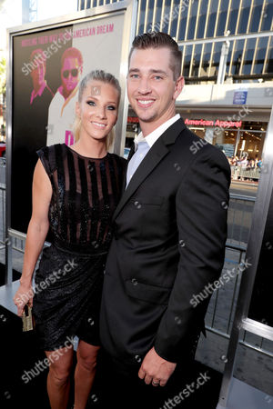 """Heather Morris and Taylor Hubbell seen at Warner Bros. Present the Los Angeles Premiere of """"War Dogs"""" at TCL Chinese Theatre, in Los Angeles"""