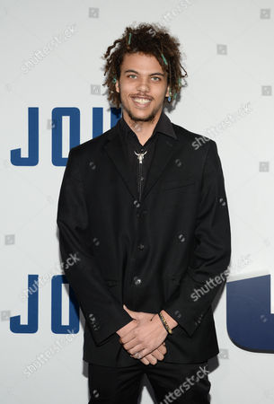 "Roberto Rossellini attends the world premiere of ""Joy"" at the Ziegfeld Theatre, in New York"