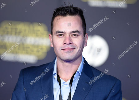 """Daniel Logan arrives at the world premiere of """"Star Wars: The Force Awakens"""" at the TCL Chinese Theatre, in Los Angeles"""