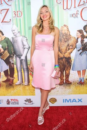 """Actress Joell Posey arrives at the world premiere of """"Wizard of Oz"""" 3D at the TCL Chinese Theatre on in Los Angeles"""
