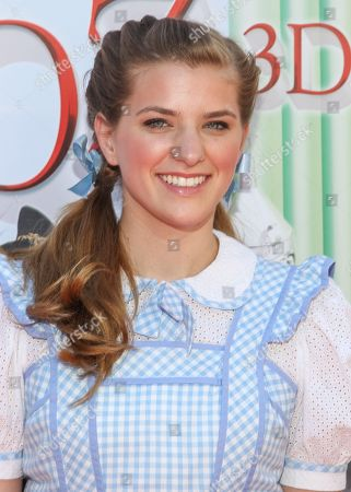 """Stock Image of Actress Danielle Wade arrives at the world premiere of """"Wizard of Oz"""" 3D at the TCL Chinese Theatre on in Los Angeles"""