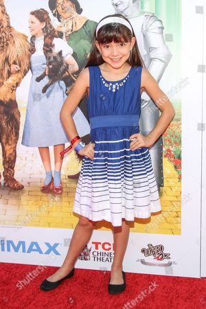 "Actress Chloe Noelle arrives at the world premiere of ""Wizard of Oz"" 3D at the TCL Chinese Theatre on in Los Angeles"
