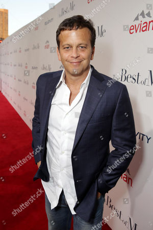 """Composer Aaron Zigman attends the World Premiere of Relativity Studios' upcoming release """"The Best of Me"""" held at Regal Cinemas L.A. Live,, in Los Angeles"""