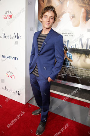 "Stock Picture of Robby Rasmussen attends the World Premiere of Relativity Studios' upcoming release ""The Best of Me"" held at Regal Cinemas L.A. Live,, in Los Angeles"