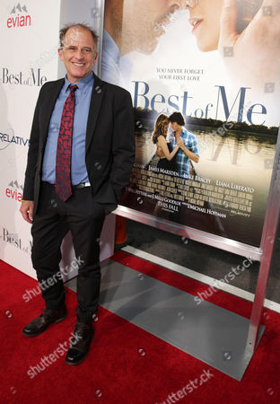 """Director Michael Hoffman attends the World Premiere of Relativity Studios' upcoming release """"The Best of Me"""" held at Regal Cinemas L.A. Live,, in Los Angeles"""