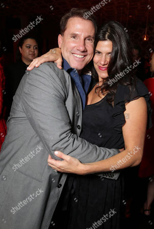 "EXCLUSIVE Writer/Producer Nicholas Sparks and Robbie Brenner, President of Production at Relativity Media attend the after party of the World Premiere of Relativity Studios' upcoming release ""The Best of Me"" held at Club Nokia in L.A. Live,, in Los Angeles"