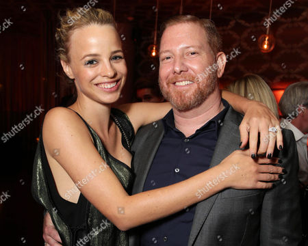"""EXCLUSIVE Jessica Roffey and Ryan Kavanaugh, Chief Executive Officer of Relativity attend the after party of the World Premiere of Relativity Studios' upcoming release """"The Best of Me"""" held at Club Nokia in L.A. Live,, in Los Angeles"""