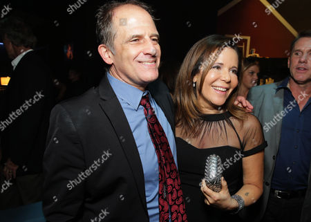 """Director Michael Hoffman and Producer Denise Di Novi attend the after party of the World Premiere of Relativity Studios' upcoming release """"The Best of Me"""" held at Club Nokia in L.A. Live,, in Los Angeles"""