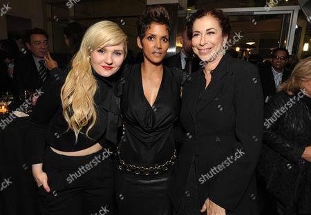 """Abigail Breslin, Halle Berry and Roma Maffia attend the after party for the world premiere of """"The Call"""" at the Arclight Hollywood on in Los Angeles"""