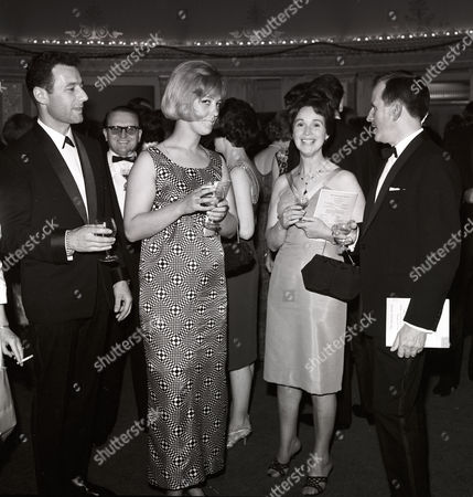 THUNDERBIRDS - Thunderbirds production party Derek Meddings, far left