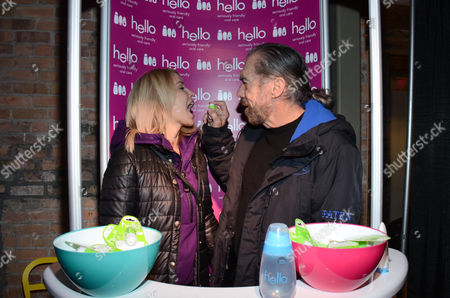 """Eloise Dejoria and Paul Mitchell seen at """"It's So Miami"""" Lounge, on in Park City, UT"""