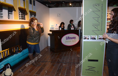 """Kaycee Stroh seen at """"It's So Miami"""" Lounge, on in Park City, UT"""