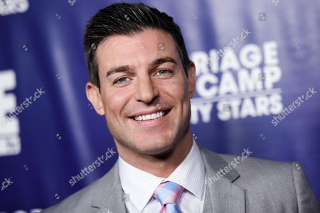 Jeff Schroder arrives at the Marriage Boot Camp Reality Stars Premiere Party held at Hyde Sunset, in Los Angeles