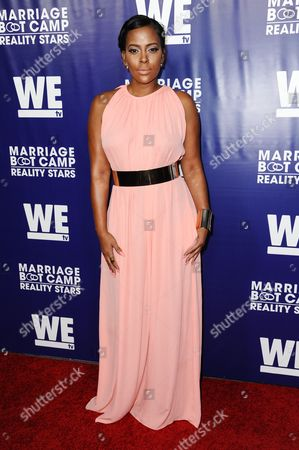 Sundy Carter arrives at the Marriage Boot Camp Reality Stars Premiere Party held at Hyde Sunset, in Los Angeles