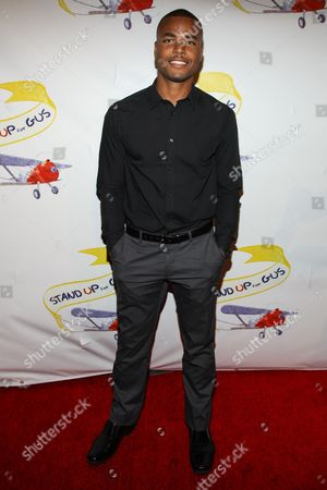 "Redaric Williams arrives at the ""Stand Up For Gus"" Benefit at Bootsy Bellows on in West Hollywood, Calif"