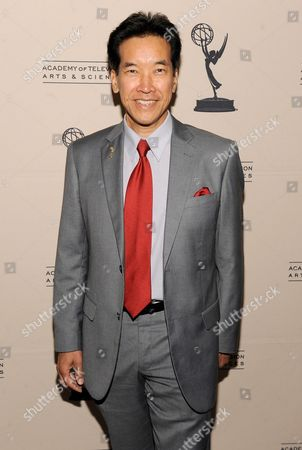 AUGUST 22: Actor Peter Kwong arrives at the Academy of Television Arts & Sciences 'Performers Peer Group Reception' at the Sheraton Universal Hotel on in Universal City, California