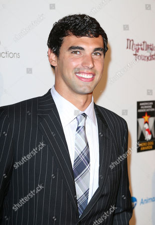 Presenter Ricky Berens arrives during 2012 American Humane Association Hero Dog Awards held at the Beverly Hilton Hotel, in Los Angeles, Calif