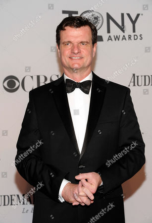 British actor Michael Cumpsty arrives at the 66th Annual Tony Awards, in New York