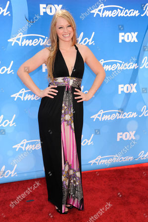 """Stock Photo of Didi Benami arrives at the """"American Idol"""" finale at the Nokia Theatre at L.A. Live, in Los Angeles"""