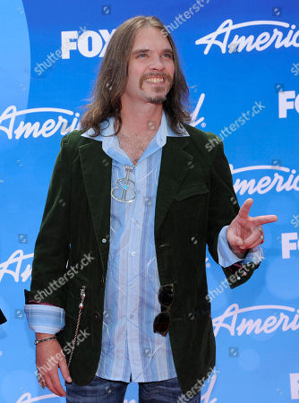 """Bo Bice arrives at the """"American Idol"""" finale at the Nokia Theatre at L.A. Live, in Los Angeles"""