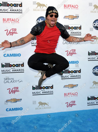 Sky Blu arrives at the Billboard Music Awards at the MGM Grand Garden Arena on in Las Vegas