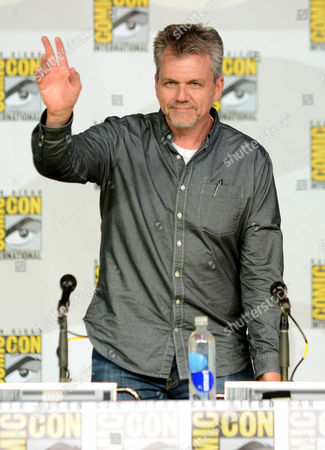 """Jeffrey Bell attends """"Agent of S.H.I.E.L.D."""" panel on Day 3 of Comic-Con International on in San Diego, Calif"""