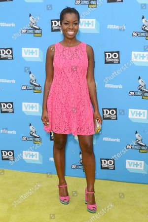 Camille Winbush arrives at the Do Something Awards at the Avalon, in Los Angeles