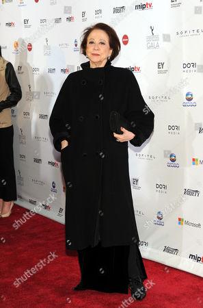 Brazilian actress Fernanda Montenegro arrives at the 2013 International Emmy Awards Gala at the New York Hilton, in New York