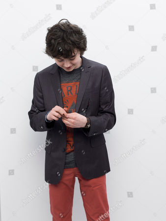 Jared Gilman poses for a photo at the 2013 MTV Movie Awards at Sony Studios on in Los Angeles, Ca