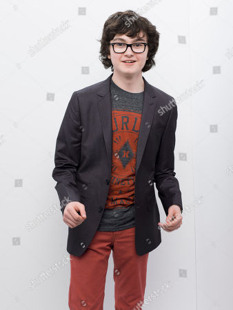 Stock Picture of Jared Gilman poses for a photo at the 2013 MTV Movie Awards at Sony Studios on in Los Angeles, Ca