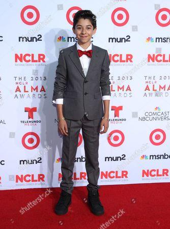 Fabrizio Guido arrives at the NCLR ALMA Awards at the Pasadena Civic Auditorium, in Pasadena, Calif