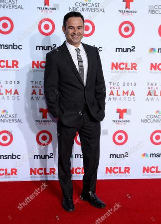 Nelson Ascencio arrives at the NCLR ALMA Awards at the Pasadena Civic Auditorium, in Pasadena, Calif