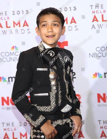 Sebastien de la Cruz poses backstage at the NCLR ALMA Awards at the Pasadena Civic Auditorium, in Pasadena, Calif