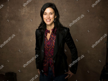 """Filmmaker Cherien Dabis of the film """"May In The Summer"""" poses for a portrait during the 2013 Sundance Film Festival at the Fender Music Lodge, on Friday, Jan., 18, 2013 in Park City, Utah"""