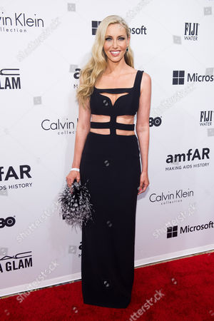 Stock Picture of Melanie Lazenby attends amfAR's fifth annual Inspiration Gala on in New York