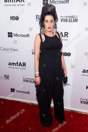 Ladyfag attends amfAR fifth annual Inspiration Gala on in New York