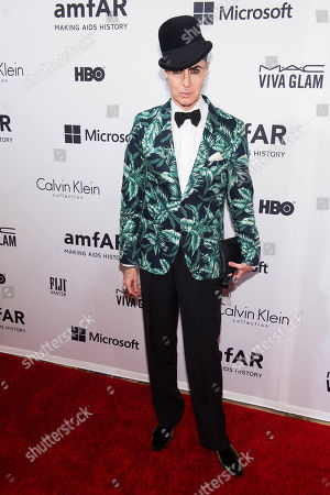Patrick Mcdonald attends amfARâ?™s fifth annual Inspiration Gala on in New York
