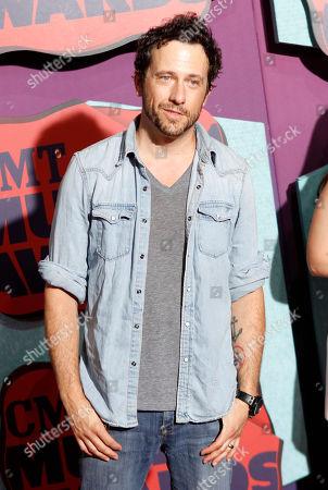 Will Hoge arrives at the CMT Music Awards at Bridgestone Arena, in Nashville, Tenn