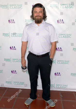 Jay Ferguson arrives at the 15th Emmys Golf Classic, presented by the Television Academy Foundation, at the Wilshire Country Club in Los Angeles