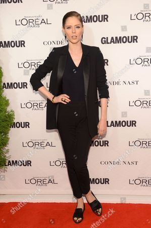 Stock Photo of Coca Rocha arrives at the 2014 Glamour Women of the Year Awards, hosted by L'Oreal Paris, at Carnegie Hall, in New York