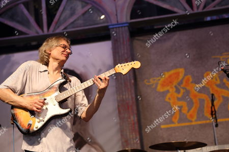Sonny Landreth performs at the 2014 New Orleans Jazz & Heritage Festival at Fair Grounds Race Course, in New Orleans