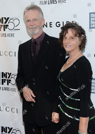 "Stock Image of Actor David Clennon and Perry Adleman attend the opening night gala world premiere of ""Gone Girl"" during the 52nd New York Film Festival at Alice Tully Hall, in New York"
