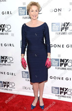 """Stock Image of Lisa Banes arrives at 2014 NYFF - """"Gone Girl"""" opening night world premiere, in New York"""