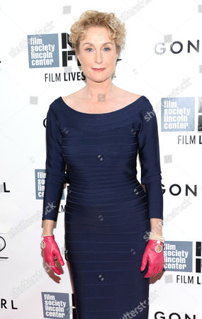 """Lisa Banes arrives at 2014 NYFF - """"Gone Girl"""" opening night world premiere, in New York"""