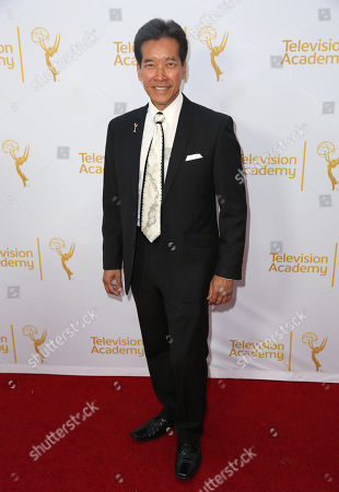 Peter Kwong arrives at the Television Academy's 66th Emmy Awards Performers Peer Group Celebration at the Montage Beverly Hills, in Beverly Hills, Calif