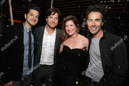 Ben Schwartz, Jason Bateman, Kathryn Hahn and Shawn Levy seen at Warner Bros. Pictures/Dolce&Gabbana cocktail party hosted by Sue Kroll and Greg Silverman at the Toronto International Film Festival, in Toronto