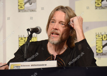 "Steve Whitmire speaks at ""The Muppets"" panel on day 3 of Comic-Con International, in San Diego"
