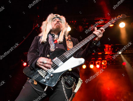 Stock Image of Johnny Colt and Johnny Colt with Lynyrd Skynyrd performs during CROCK FEST at Verizon Wireless Amphitheatre, in Atlanta