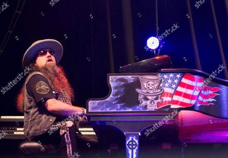 Peter Keys with Lynyrd Skynyrd performs during CROCK FEST at Verizon Wireless Amphitheatre, in Atlanta