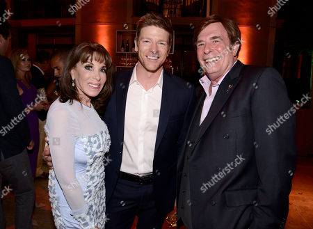 Kate Linder, from left, Burgess Jenkins and David Michaels seen at the Television Academy's 67th Emmy Daytime Peer Group Celebration at the Montage Beverly Hills on in Beverly Hills, Calif